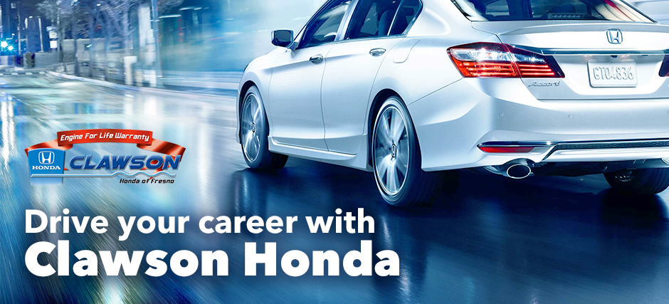 Drive Your Career with Clawson Honda