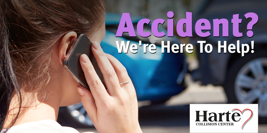 Collision picture shown with person on their phone