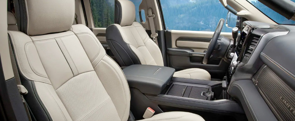 2019 Ram 2500 Interior & Technology