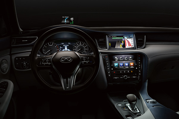 2019 INFINITI QX50 Comfort & Technology Changes