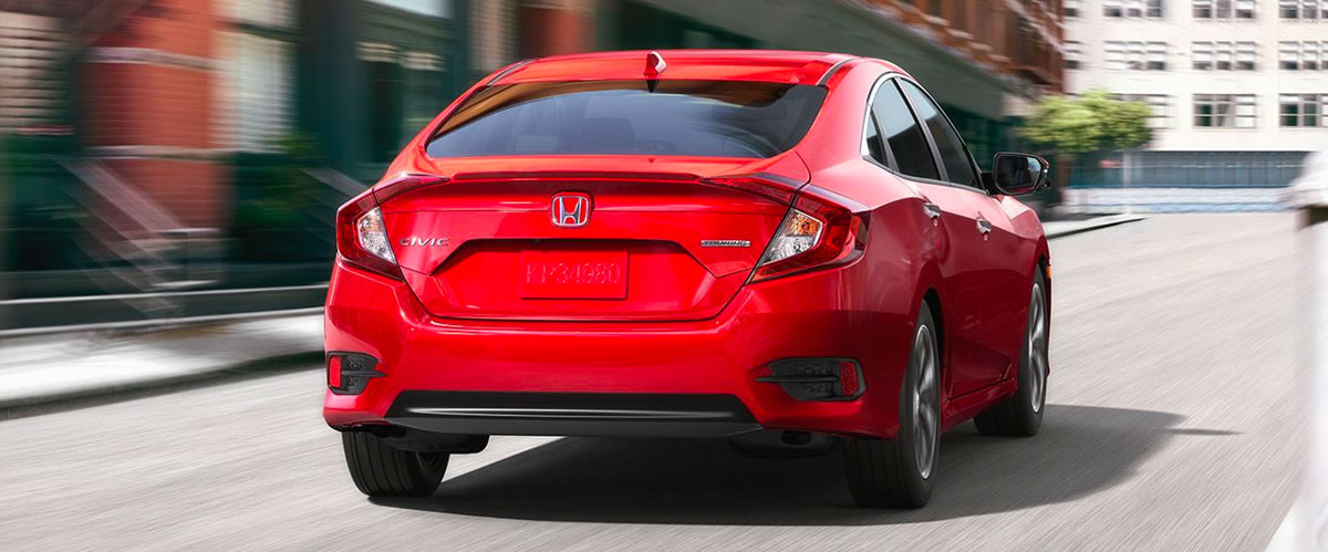 2018 Honda Civic Sedan footer