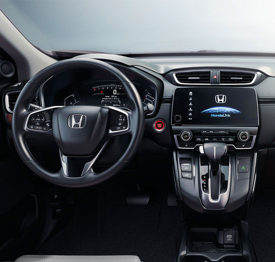 2018 Honda CR-V Interior & Technology
