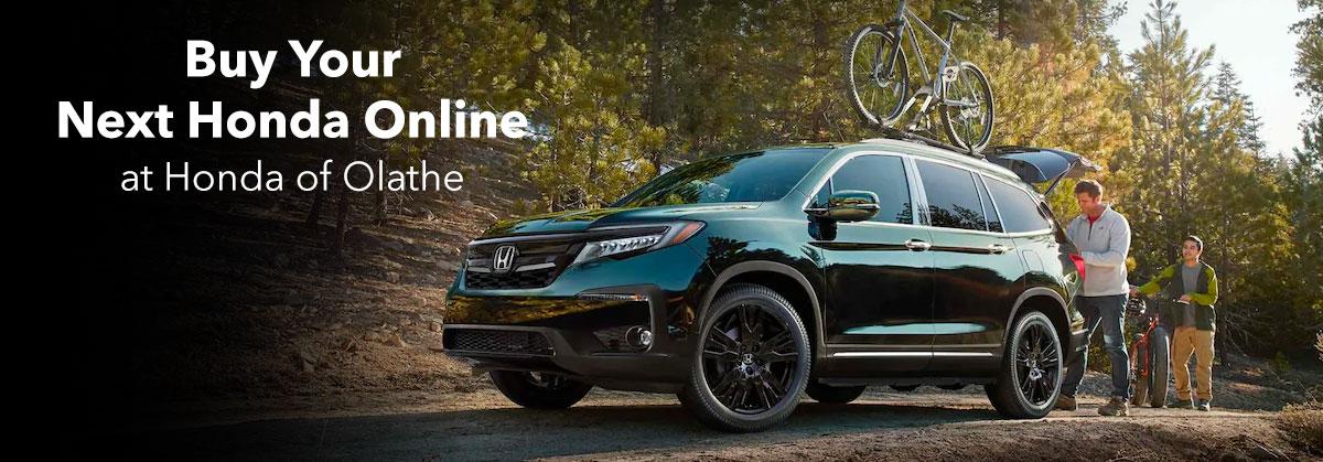 Buy Your Next Honda Online at Honda of Olathe