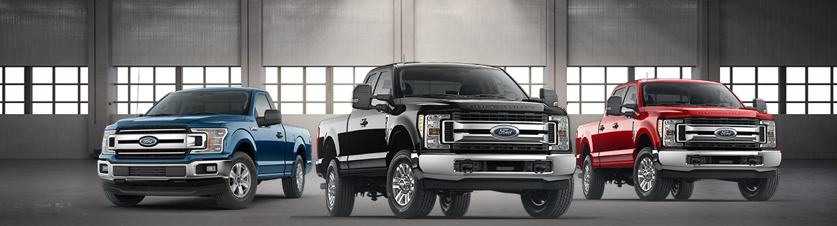 Ford F-Series Lineup