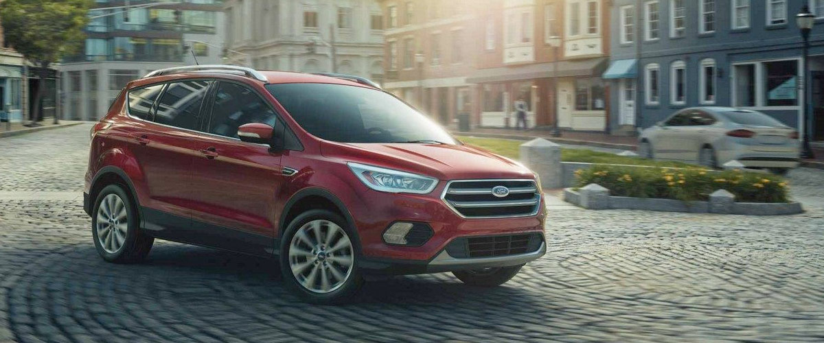2019 Ford Escape header