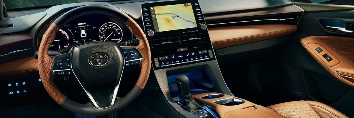 2019 Toyota Avalon Interior & Technology