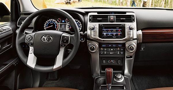 2018 Toyota 4Runner Interior Features