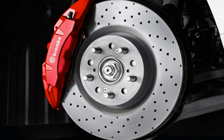 RED BREMBO® BRAKING