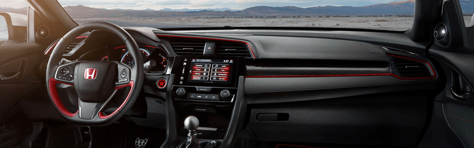 2017 Honda Civic Type R Entertainment and Technology