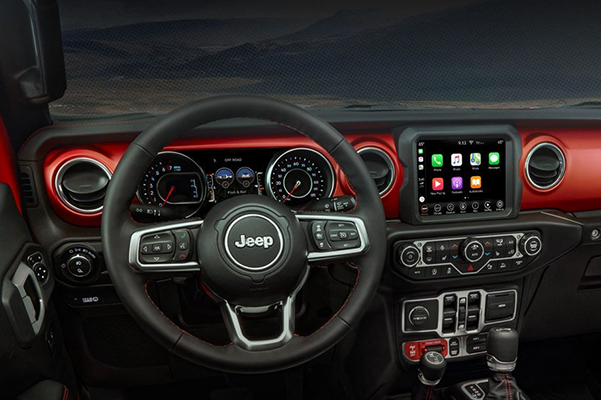 2020 Jeep Gladiator Interior Dash