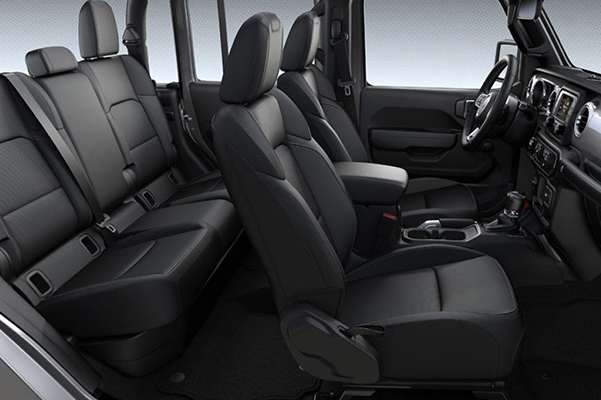 2020 Jeep Gladiator Interior