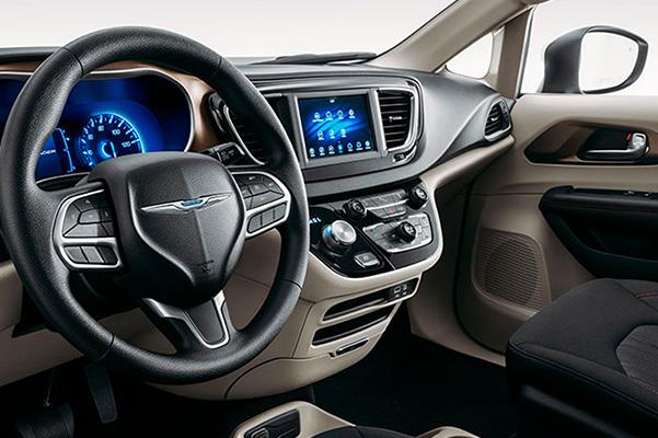 2020 Chrysler Voyager interior dash