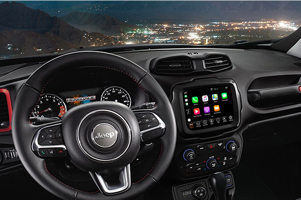 2020 Jeep Renegade interior dash