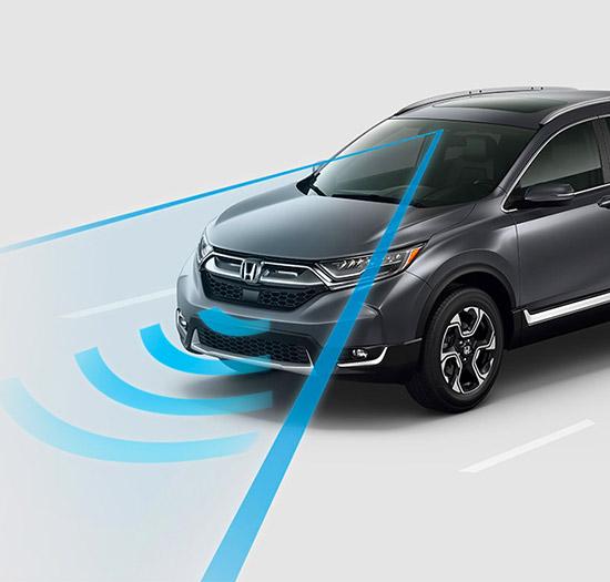 2018 CR-V Touring with HondaSensing®