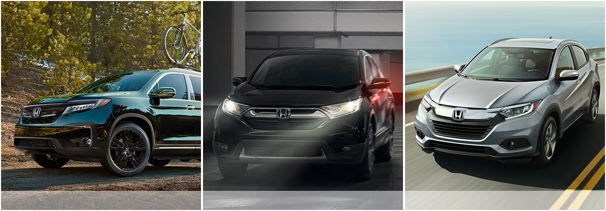 Compare Legends Honda's SUV Models header