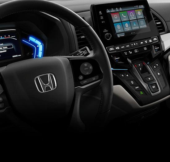 2018 Honda Odyssey Interior & Tech