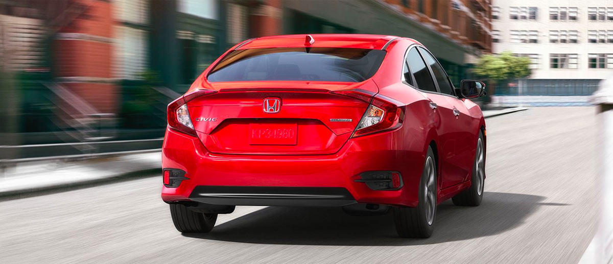 2018 Honda Civic footer