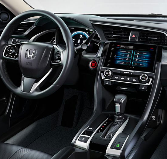 2018 Honda Civic Interior & Tech