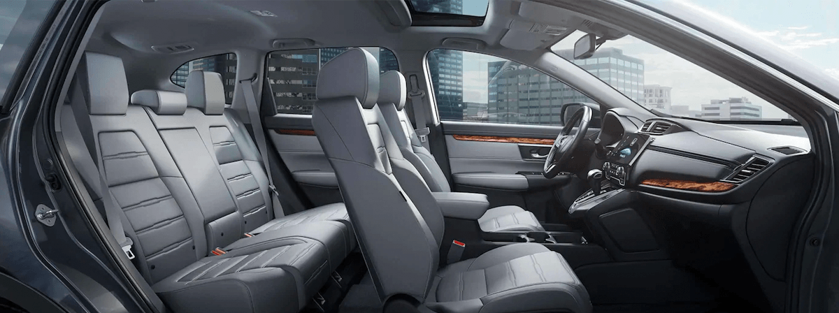 New 2019 Honda CR-V  interior