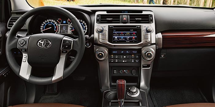 2018 Toyota 4Runner - interior