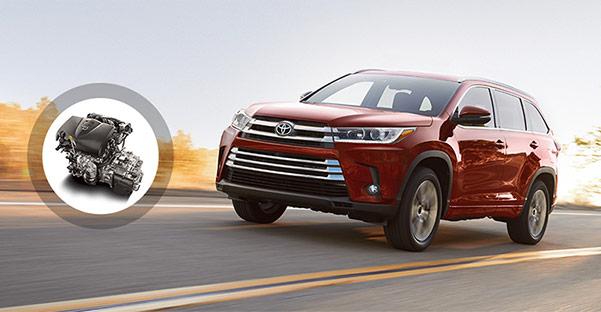 2018 Toyota Highlander Specs & Performance