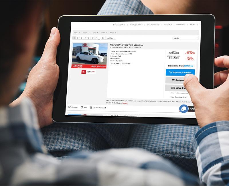 Buy a New Toyota Online | New Toyota Lease in Kansas City, KS