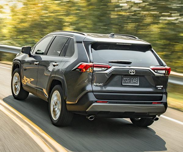 2019 Toyota RAV4 Interior