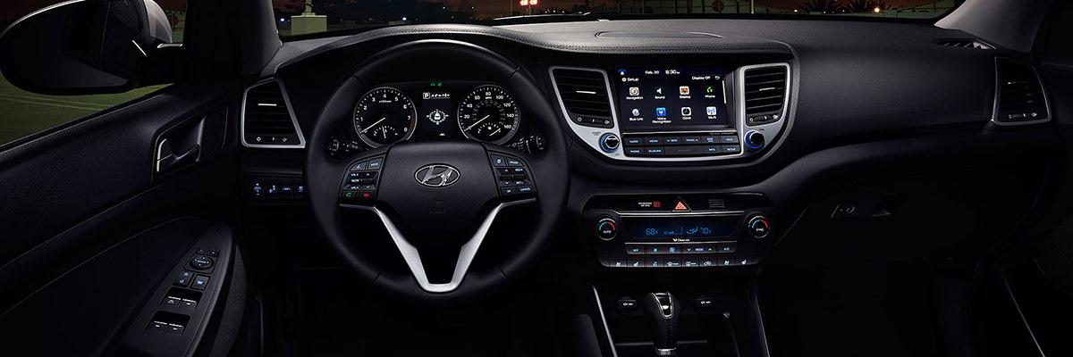 2018 Hyundai Tucson 2018 Hyundai Tucson Interior Features
