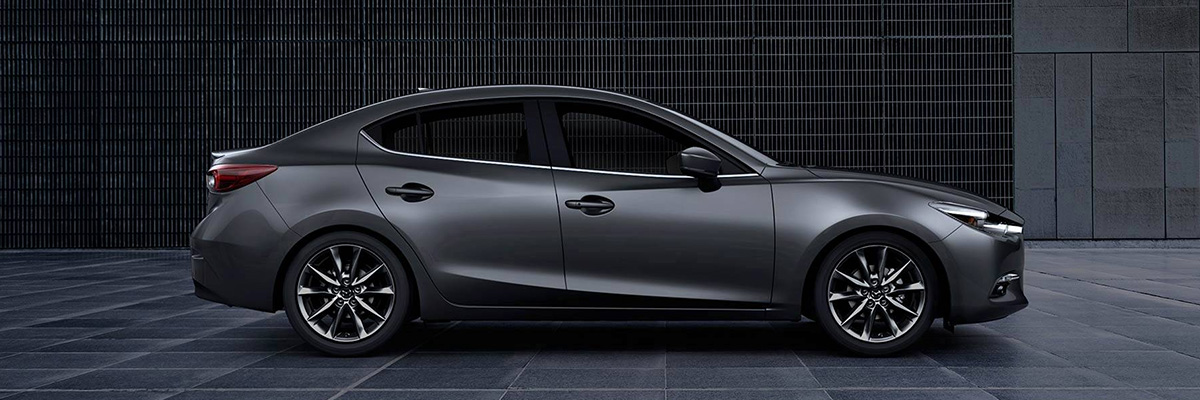 2018 Mazda3 side view