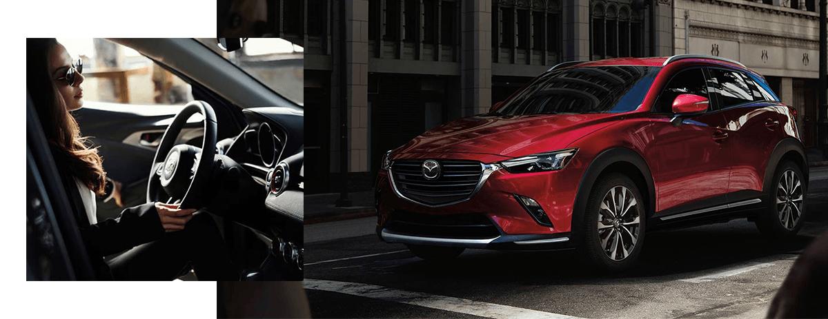 The 2019 Mazda CX-3 exterior
