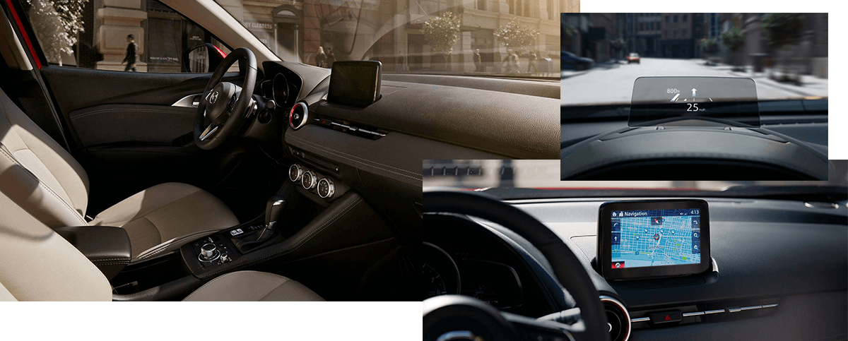 The 2019 Mazda CX-3 interior