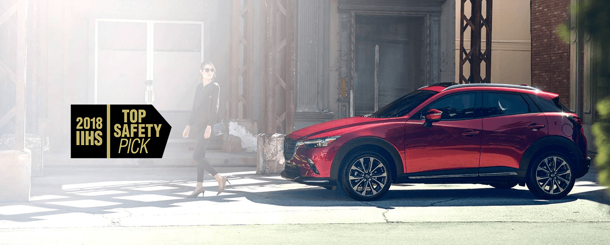 The 2019 Mazda CX-3 parked
