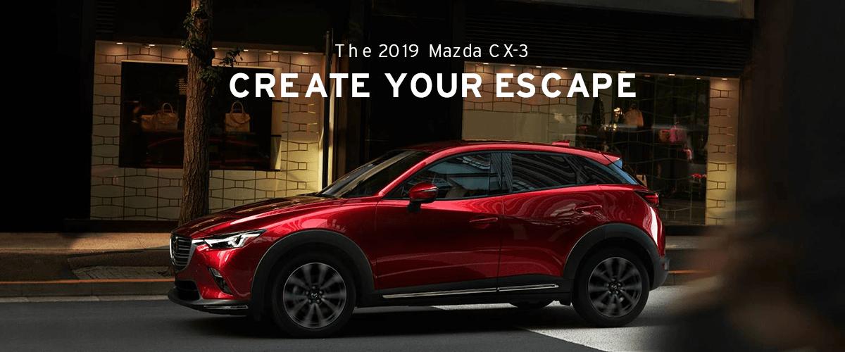 The 2019 Mazda CX-3