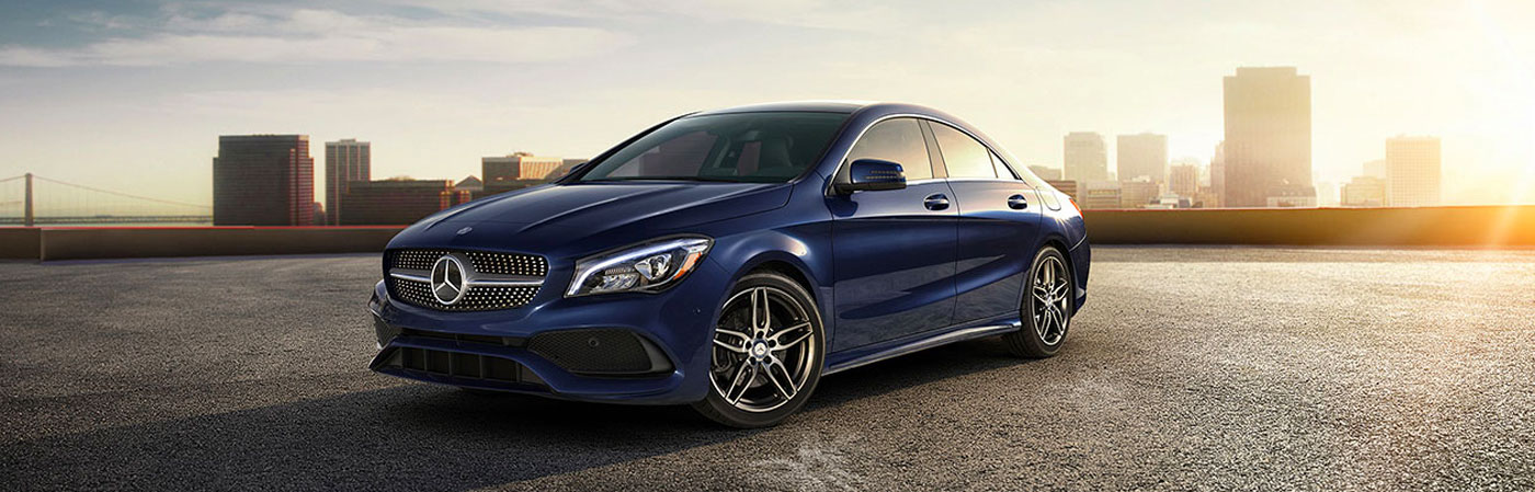 2018 Mercedes-Benz CLA 4‑door Coupe