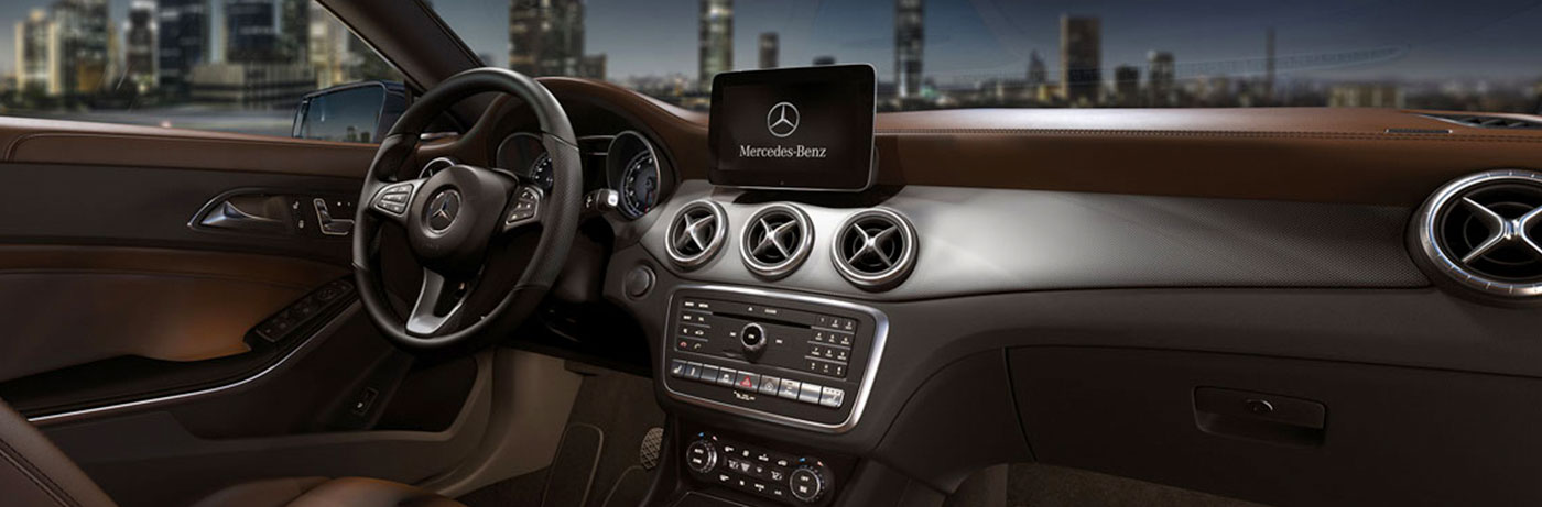 CLA250 with Nut Brown leather with Interior and Multimedia Packages