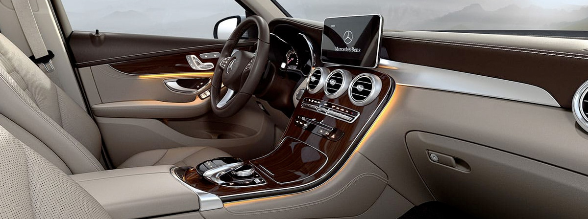 2019 Mercedes-Benz GLC 300 interior