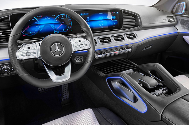 Additional standard and available features in the 2020 Mercedes-Benz GLE include