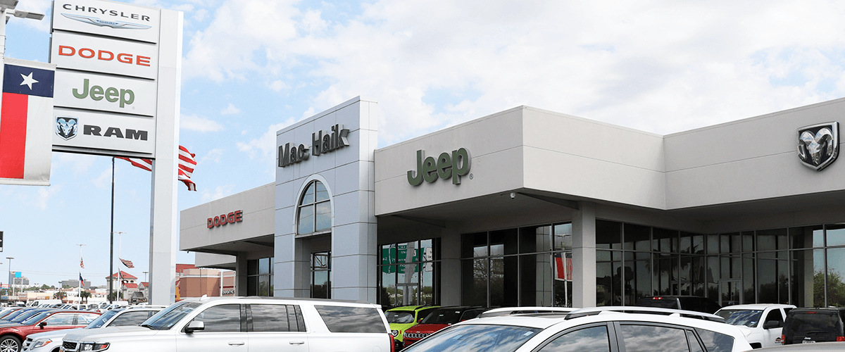 Why Buy from Mac Haik Dodge Chrysler Jeep Ram | Houston Car Dealer