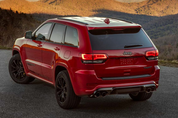 2019 Jeep Grand Cherokee Specs & Performance