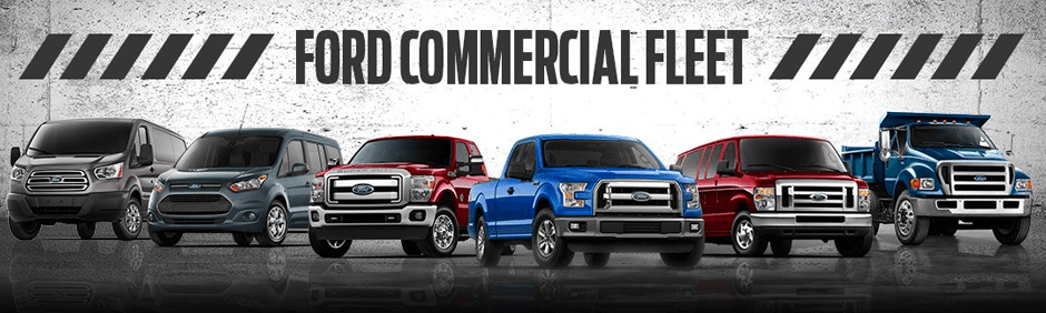 commercial Ford vehicle lineup