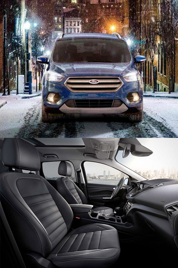 2018 Ford Escape Interior & Technology