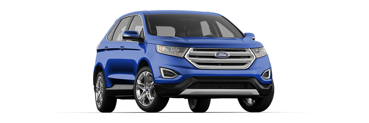 2018 Ford Edge Side View
