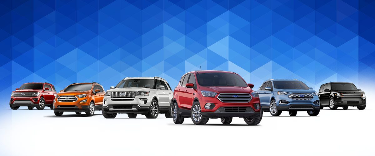 2019 Ford Lineup header