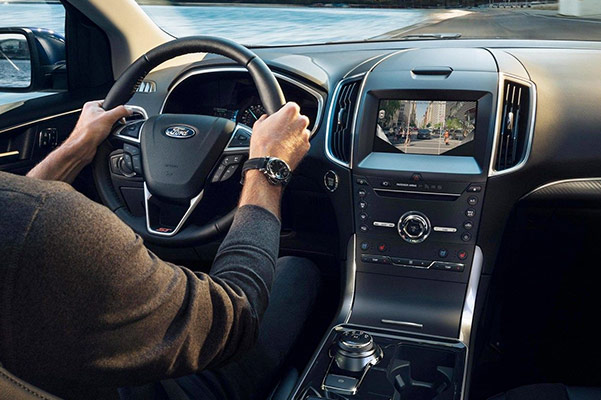 Ford Edge Interior Technology