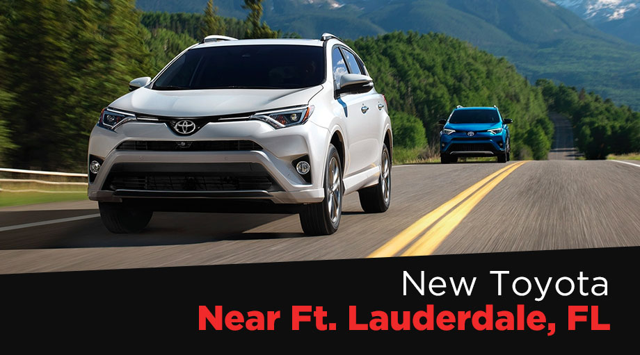 Toyota Dealership Fort Lauderdale >> New Toyota Sales Near Ft Lauderdale Fl Buy A New Toyota