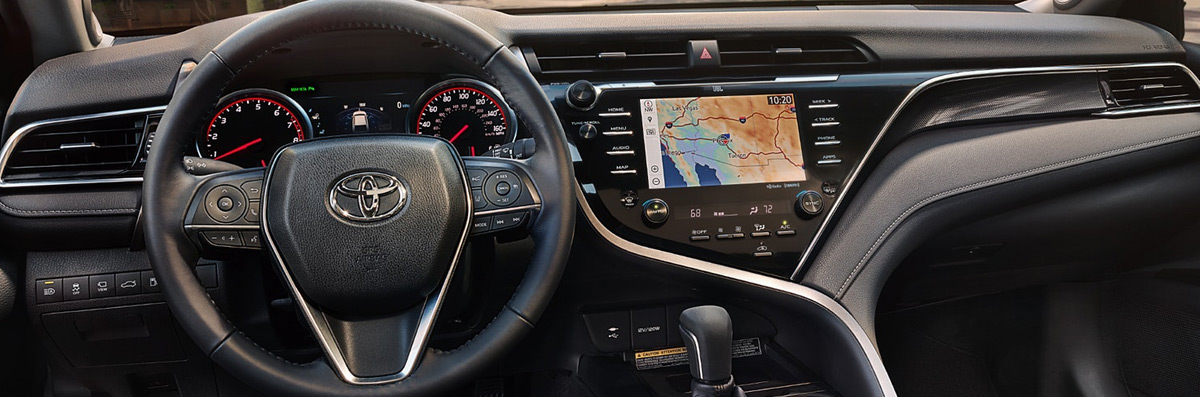 2018 Toyota Camry - interior