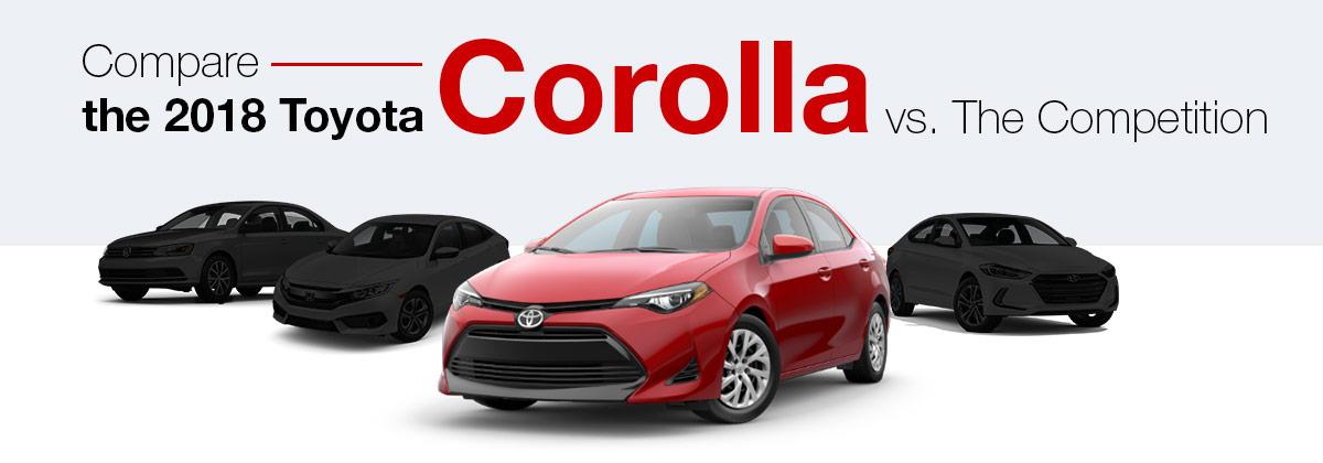 Compare the 2018 Toyota Corolla near Miami, FL