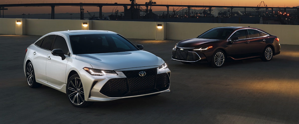 2019 Toyota Avalon Header