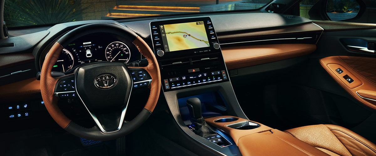 2019 Toyota Avalon Interior Comforts