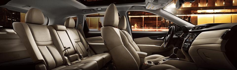 Interior Layout of 2017 Nissan Rogue, Nissan Rogue Specials near Atlanta, GA